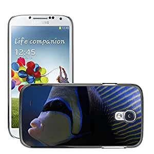 Just Phone Cover Etui Housse Coque de Protection Cover Rigide pour // M00138785 Angelfish del emperador Angelfish Fish // Samsung Galaxy S4 S IV SIV i9500