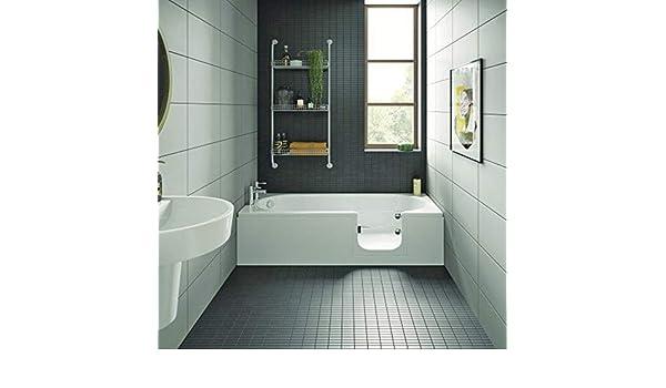 Bañera con puerta, senior bañera 169,5 x 70 x 51 cm Con bañera ...