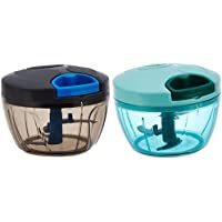 Amazon Brand - Solimo Compact Vegetable Chopper