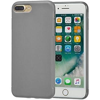 AmazonBasics iPhone 8 Plus / 7 Plus Textured Case, Dark Grey