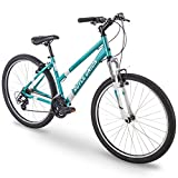 27.5″ Royce Union RMA Womens 21-Speed All-Terrain Mountain Bike, 17″ Aluminum Frame, Trigger Shift, Metallic Teal For Sale