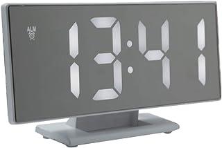 Outgeek GUIDATO Orologio Desktop Multiuso Allarme Orologio Digitale Orologio per Casa Ufficio