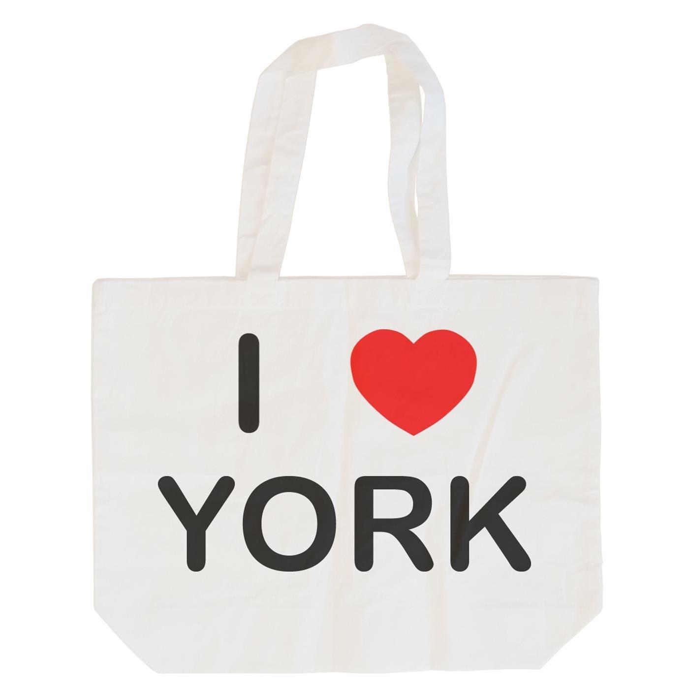 I Love York Cotton Tote Bag