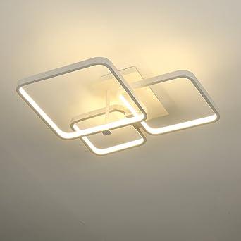 ELINKUME Lámpara LED de techo 52W lamparas de salon techo