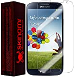 Samsung Galaxy S4 Screen Protector, Skinomi® TechSkin Full Coverage Screen Protector for Samsung Galaxy S4 Clear HD Anti-Bubble Film - with Lifetime Warranty