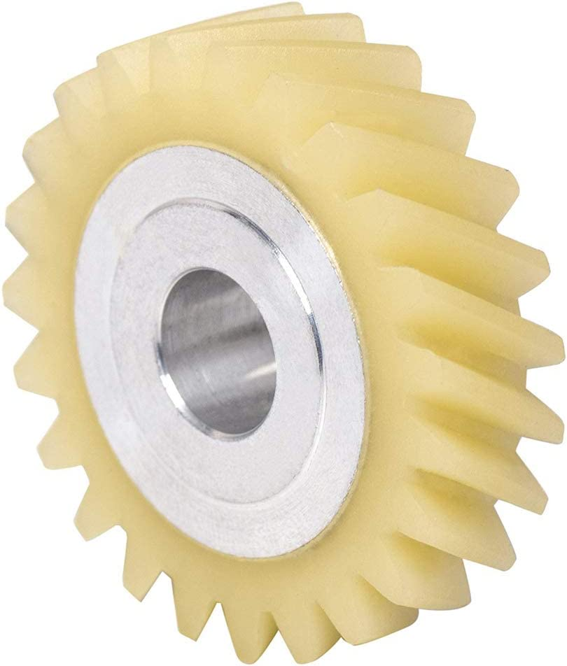 Replaces WPW10112253 4162897 4169830 W10112253 Mixer Worm Gear Replacement Part by Exact Fit for Whirlpool /& Kenmore Mixers