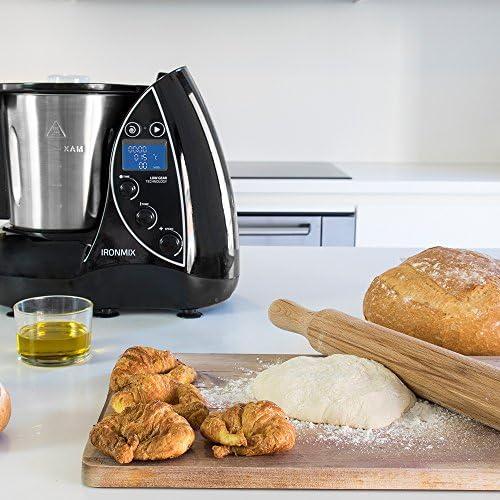 Cecotec Robot de Cocina Multifunción IronMix. Capacidad de 3,3l ...