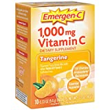 Emergen-C 1000 mg Vitamin C Drink Mix Packets, Tangerine, 3.3 Ounce