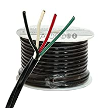 ThruSound Burial Series 16 AWG 4 Conductor Outdoor Speaker Wire - FT4 Compliant (50ft)