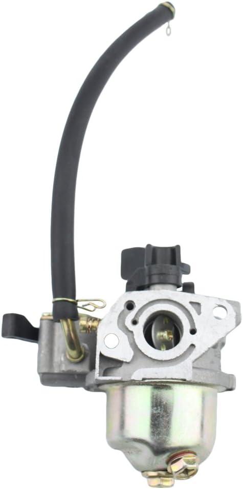 GOOFIT Carburador 19 PZ19 Minimoto para GX120 GX160 GX168 GX200 5.5HP 6.5HP Generador Motor Pit Bike Scooter ATV Quad Plata