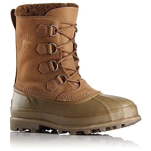 Bronze Calf Footwear - SOREL Men's Caribou II Boot (11.5 D(M) US, Autumn Bronze)