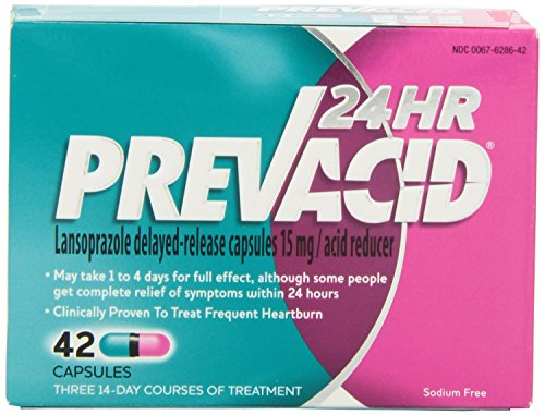 Prevacid 24HR Caps 42-Count (pack of - Prevacid 42ct