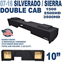 07-16 Chevy Silverado & Gmc Sierra extended / double cab Solobaric Sub Box Subwoofer Enclosure