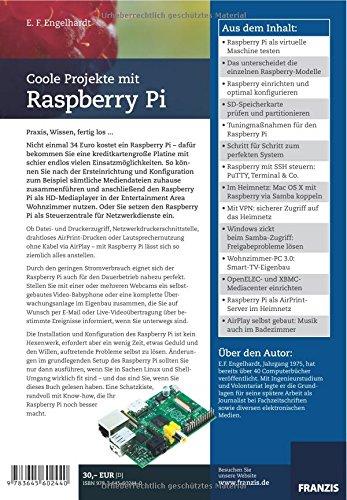 Coole Projekte mit Raspberry Pi: Amazon.de: E. F. Engelhardt: Bücher
