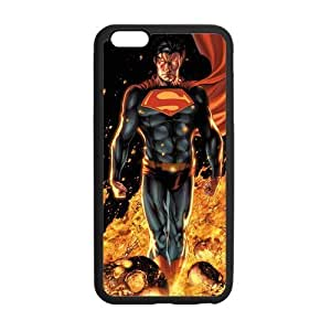 Superman Ray Case Custom Durable Hard Cover Case for iPhone 6 - 4.7 inches case - Black Case