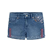 Levis Baby Girls Embroidered Short