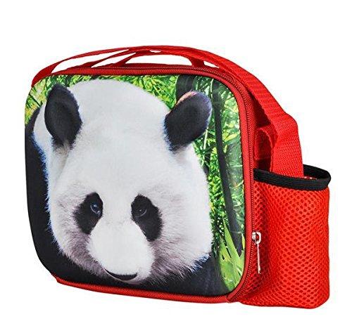 8'' 3D FOAM PANDA LUNCH PACK, Case of 24