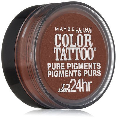 2 Pack- Maybelline Color Tattoo Pure Pigments Eye Shadow #40 Improper Copper Copper Pure Eye Shadow
