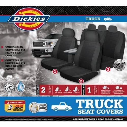 Auto Expressions Dickies Arlington 3 Piece Truck Seat Cover