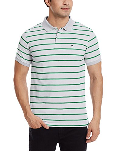 Ruggers Men's Cotton Polo (8907242678153_266567776_Small_Grey)