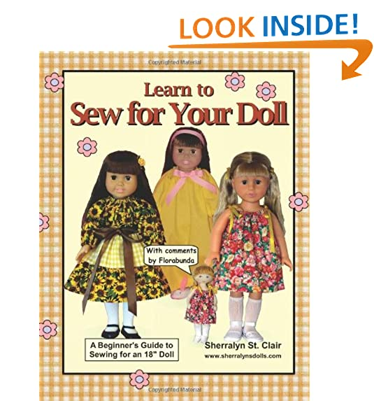 Sewing Patterns for 18 Inch Dolls: Amazon.com