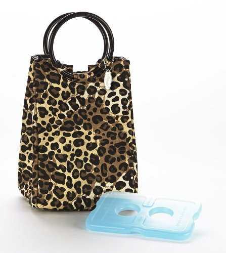 Fit & Fresh Women's Retro Insulated Lunch Bag with Magnet...