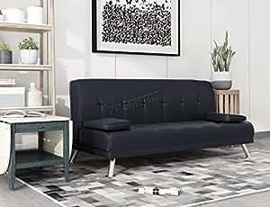 WestWood - Sofá cama de piel sintética con un diseño ...