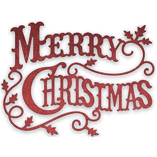 Merry Christmas - Cheery Lynn Designs CABD9 Merry Christmas