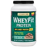 Cheap Fitness Labs WheyFit Protein (2 Pounds, Natural Chocolate)
