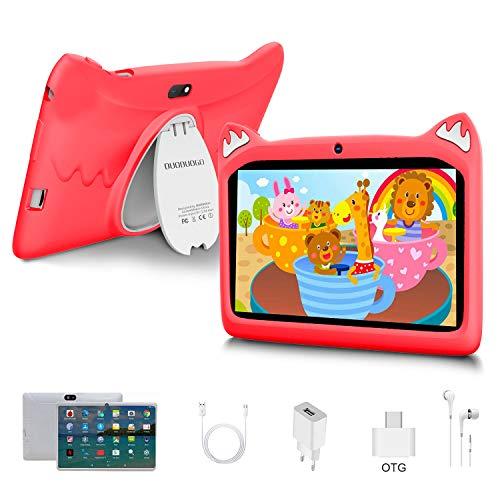 🥇 Tablet para Niños con WiFi 7 Pulgadas Android 10 Pie