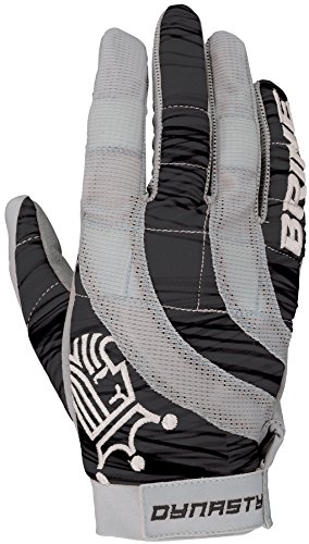 Brine Women's Dynasty Warm Weather Mesh Glove, Black, Medium