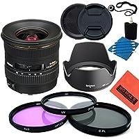 Sigma 10-20mm f/4-5.6 EX DC HSM Lens for Canon Digital SLR Cameras - Starter Kit