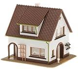 ho scale house - Faller 130200 Stucco House w/Dormer HO Scale Building Kit