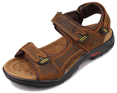 Homme 5 SandalsSandales Athleticamp; Fangsto 44 Outdoor Pour Marron HeWDY29IE