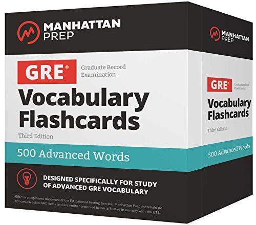500 Advanced Words: GRE Vocabulary Flashcards (Manhattan Prep GRE Strategy Guides) (English Vocabulary Cards)