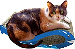 product image for Imperial Cat Whale Scratch 'n Shape, Blue, Small