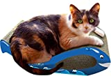 Imperial Cat Whale Scratch 'n Shape, Blue, Small For Sale