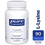Pure Encapsulations – l-Lysine – Hypoallergenic Supplement Helps Maintain Healthy Arginine Levels and Immune Function* – 90 Capsules