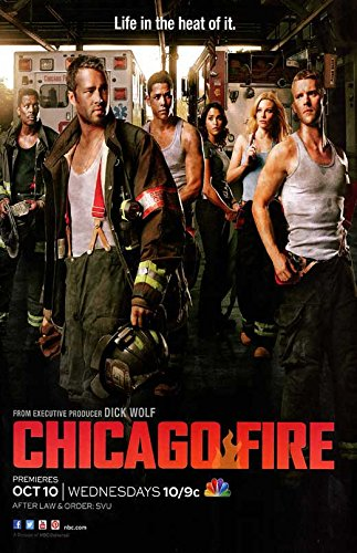 Chicago Fire TV Poster