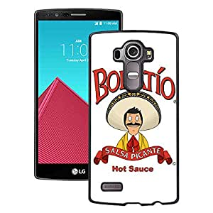 Beautiful Designed Case With Bob's Burgers 2 Black For LG G4 Phone Case