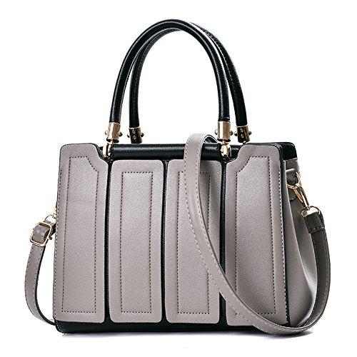 Moda En Otoño gray Mujer Bolsa Invierno Meoaeo Nueva para Claret E 5anWXnpq