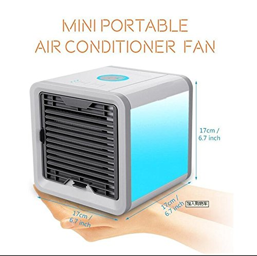 SL&LFJ Miniature cooling fan,Portable cooling water fan home dormitory outdoor air conditioner usb water air conditioning fan with remote control-A by SL&LFJ