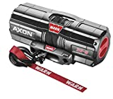 New Warn Axon 3500 lb Winch With Synthetic Rope & Model Specific Mount - 2013-2018 Polaris Scrambler 850 ATV