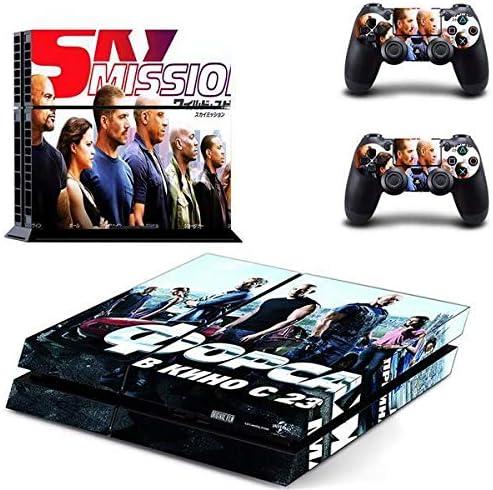thtb Playstation 4 Controlador + 2 pegatinas – Protector de pantalla Set Fast and Furious 7/PS4: Amazon.es: Juguetes y juegos
