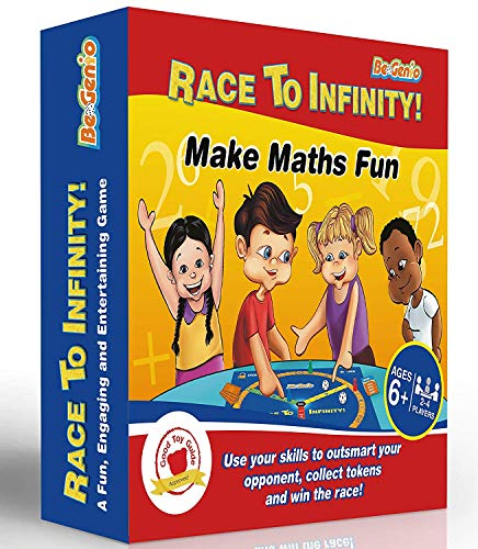 Math Games,Home & School Math Game for Kids 7-12,Math Board Game, Math Multiplication Games, Everyday Elementary Maths Games by BeGenio-Easy Fun Learning—Guaranteed Easy Addition+Subtraction -