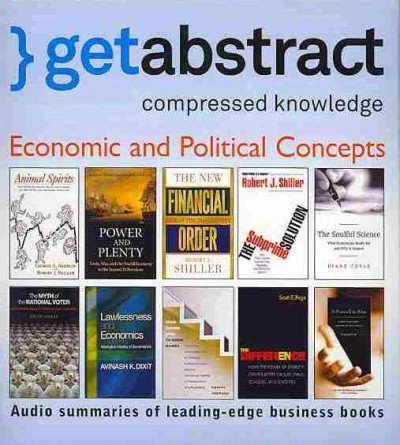 Economic and Political Concepts (Getabstract): Amazon.es: Getabstract, Various: Libros en idiomas extranjeros