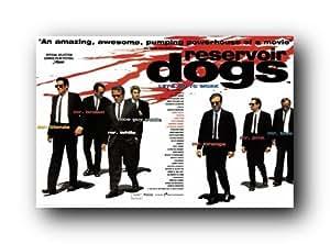 Reservoir Dogs Uk Poster New Movie Mr Tarantino St4310 College Poster Print, 36x24