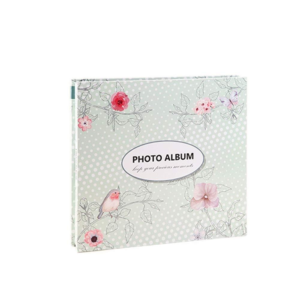 High Transparent Album Album Phase 6 inch Booklet Interstitial Family Baby Growth Album Large 600 Capacity (Color : C)
