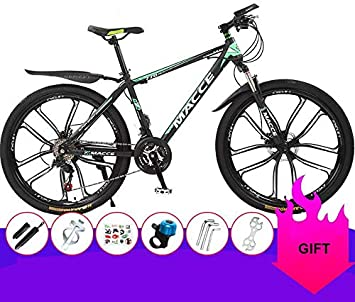 Dsrgwe Bicicleta de Montaña, De 26 Pulgadas de Bicicletas de ...