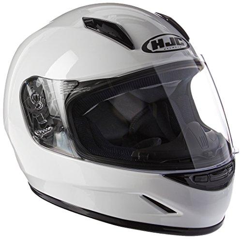 HJC Helmets CL-Y Youth Helmet (White, Small)